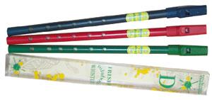 Irish whistles and flutes